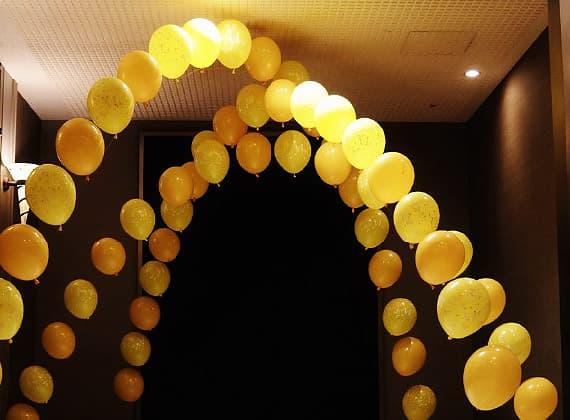結婚式、パーティー、誕生日、イベントでのバルーンアーチ